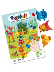 PLAYBOOK: 16 stranica sa kartonima za igru i dekoraciju