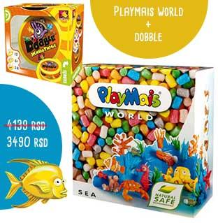 playmais world more dobble životinje